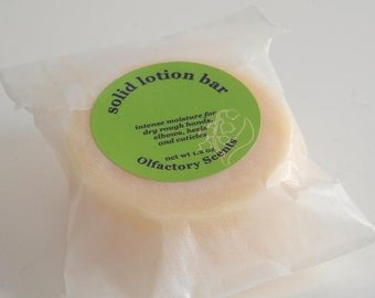 VANILLA LAVENDER  Solid Lotion Bar REFILL