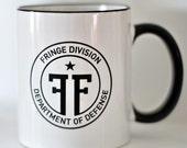 SALE Fringe Division Mug ONLY 4 LEFT