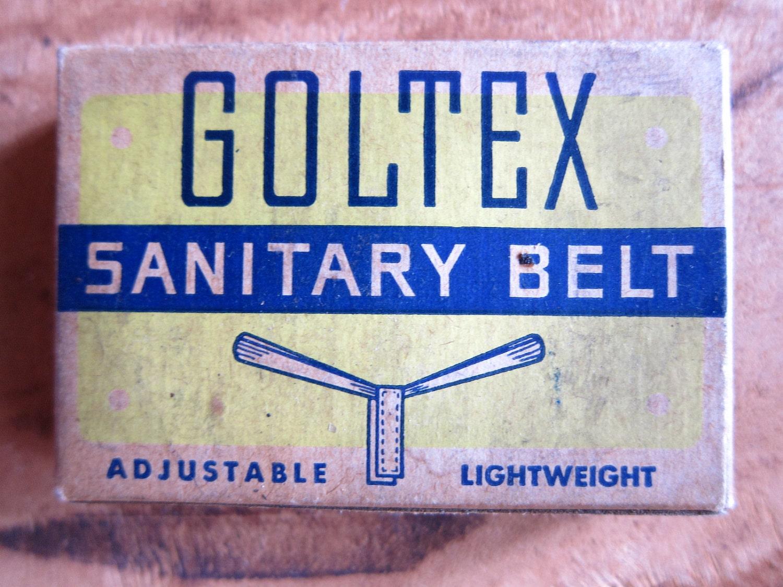 Old Fashioned Sexy Sanitary Napkin Belt