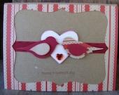 Valentine's Day Love Birds Card