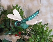 Dragonfly Ornament - Green