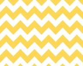 Riley Blake Chevron fabric in Yellow, C320-50 -- 1 yard, in stock