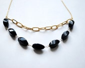Nebula / Galaxy necklace - Glow in the dark -  Sparkling Statement Necklace - a sun stone necklace, dark night, sky inspired