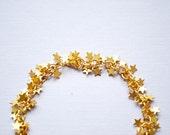Stars bracelet, Celestial bracelet, Gold stars bracelet, Galaxy bracelet, Romantic fairy tale bracelet, Stars jewelry, Gift for her