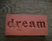 Garden Plaques and Steppin' Stones--DREAM in terra cotta