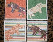 Runnin' Rhinos Card Set II