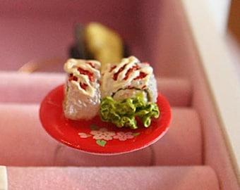 California Roll sushi ring