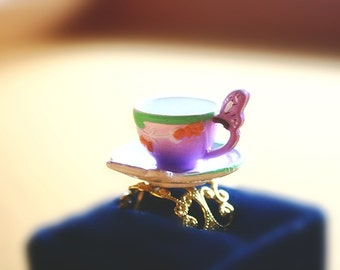 Vidia pixie fairy teacup ring