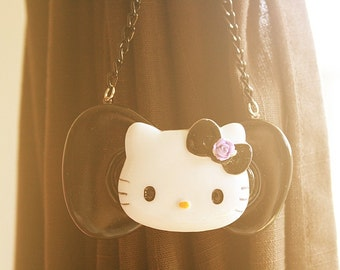 Sephia Kitty cat necklace