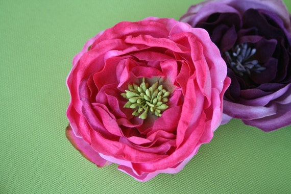 Blossom flower hairclip (pick your choice)
