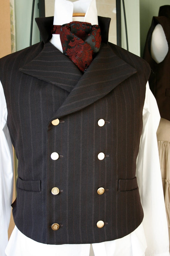 42 quot 44 quot chest steampunk double breasted waistcoat vest sweeney todd