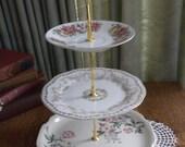 Vintage China Cupcake/Jewelry Stand 10 Sale