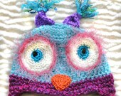 Little  Owl Hat For 1 to 2 year old girl