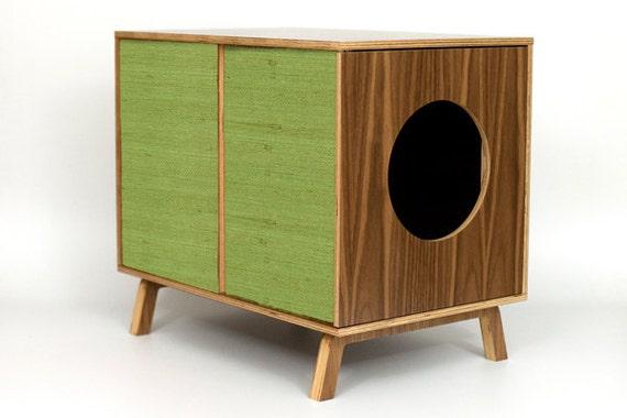Items Similar To Mid Century Modern Cat Furniture Litter