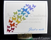 Note Card Set designed for Autism Awareness, Suitable for Teachers, Therapists, Neighbors, Helpers, Thank You, in Bright Colors - scrappycath