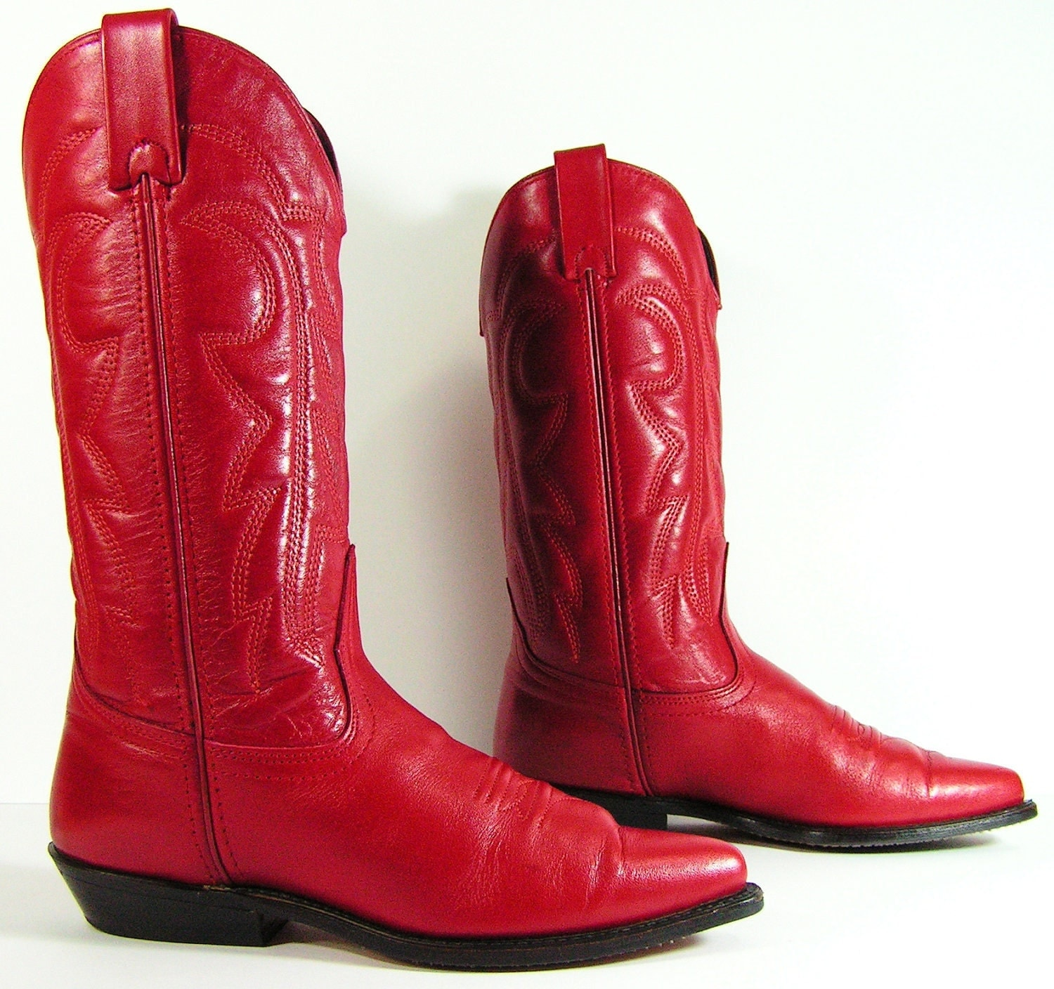 Wonderful Boots Costume Pic Cowboy Boots Red