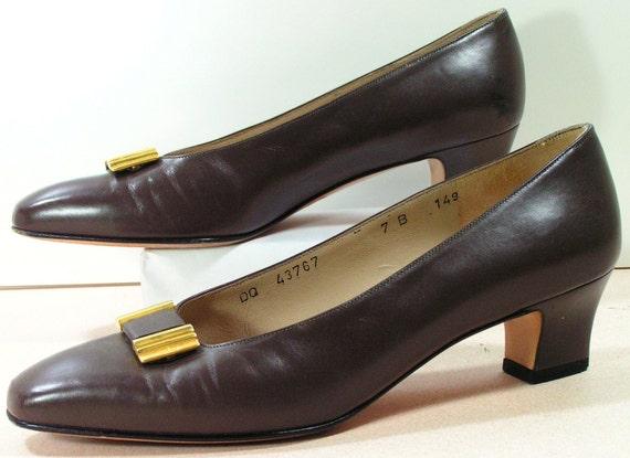 salvatore ferragamo dress shoes womens 7 b m by