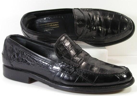 Johnston Mens Alligator Shoes