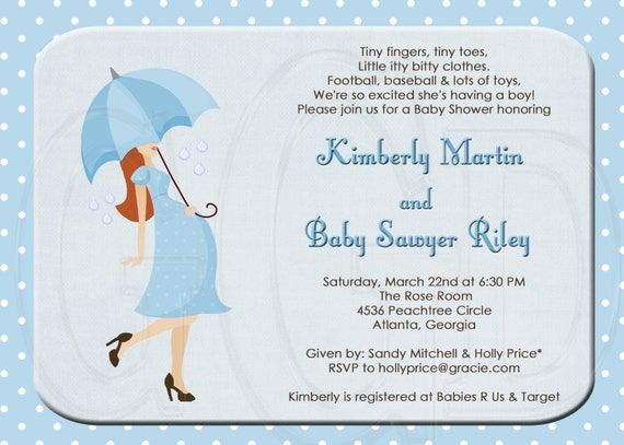 Baby Sprinkle Invite for perfect invitations template