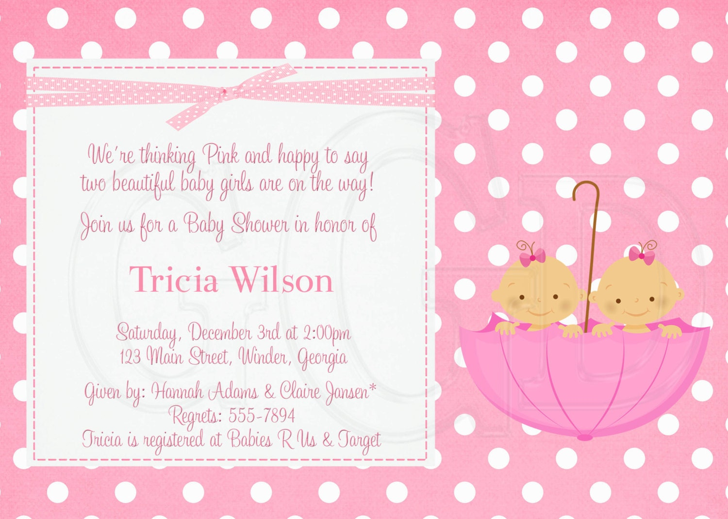 Baby Shower Invite Wording For Girl is good invitations layout