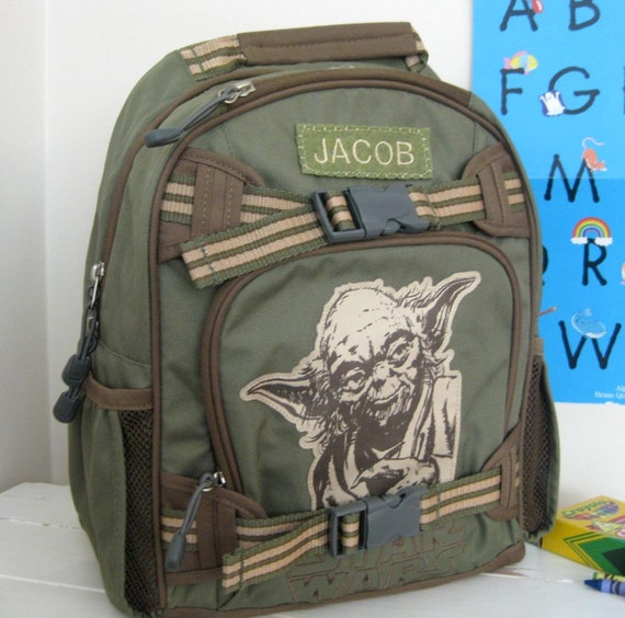 Personalized Kids Backpack Pottery Barn Star Wars Small Size
