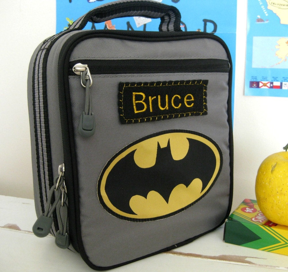 Personalized Kids Lunch Box Pottery Barn Batman