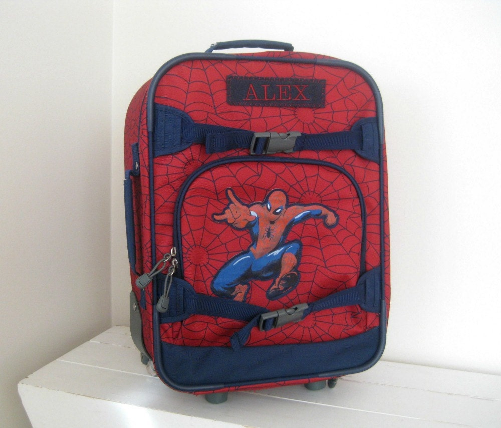 Personalized Kids Rolling Luggage Small Size By Benlovesbirdy