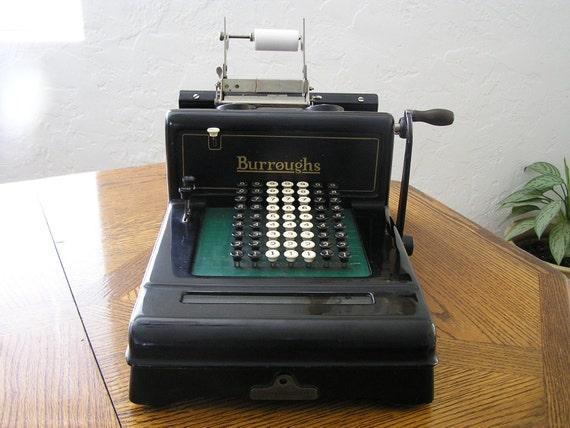 1919 Burroughs Class 3 Adding Machine