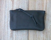 The Small Zipper Pouch in Black