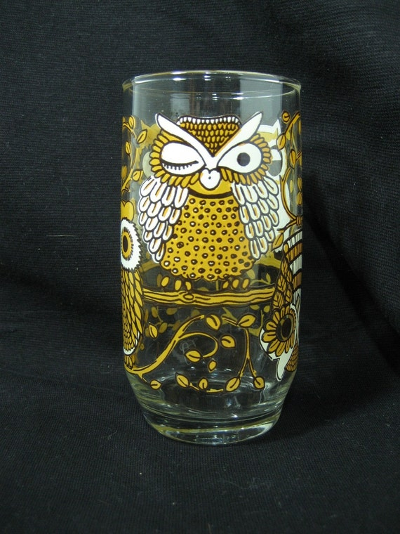 Owl Lover's Drinking Glass