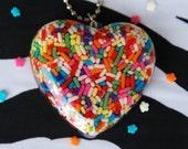 Kawaii Sprinkle Heart