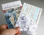"250 post cards - 4""X6"" size - 13 PT 100% recycled stock - Custom printed - custom printed - eco-friendly"