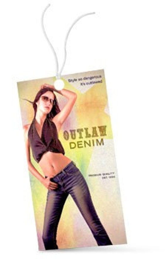 """250 hang tags or Bookmarks - 2""""X5"""" size - 14 PT glossy, UV coated - full color - custom printed"""