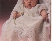 A Beautiful Crochet Vintage Christening Gown in PDF Format ADSPDF003