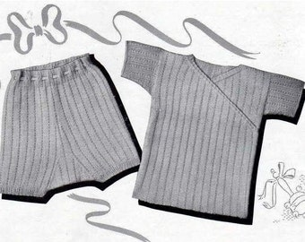 Vintage Vest and Singlet Delivered via PDF Format - ADSPDF002 (Knitting)