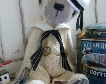 Introducing Johnny Come Lately.  Dont sew but LUV JLC - No problem I can make him for you :)