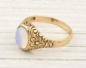 Antique Gold Victorian Opal Ring