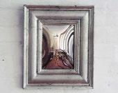 Silver Convex Mirror