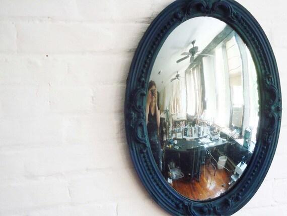 Convex Verre Eglomise Federal Mirror