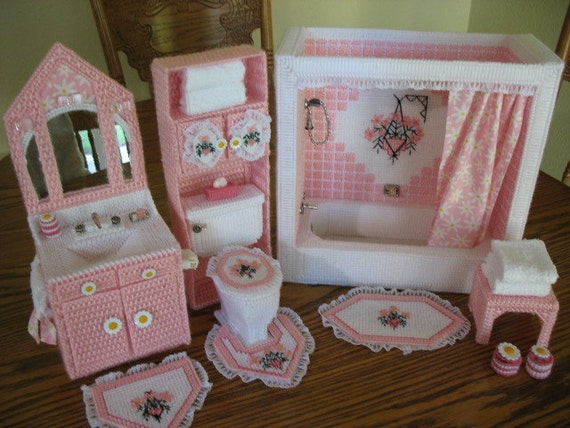 Bathroom for Barbie size dolls