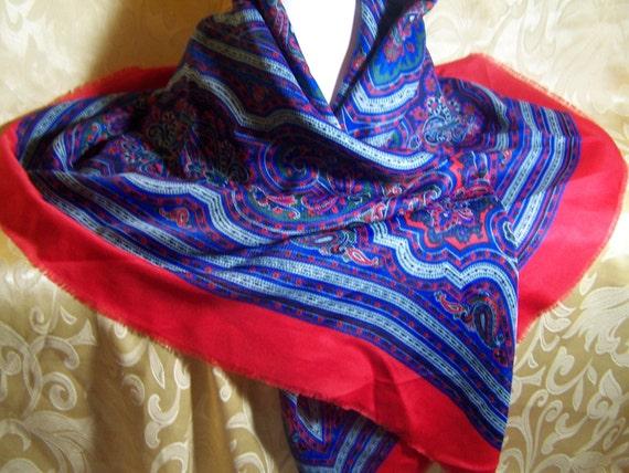 Extra Large Scarf  Vintage Bohemian Shawl Gypsy Fashion