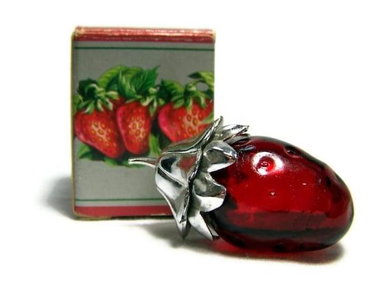Vintage Miniature Perfume Bottle Strawberry Fair 1970s Avon