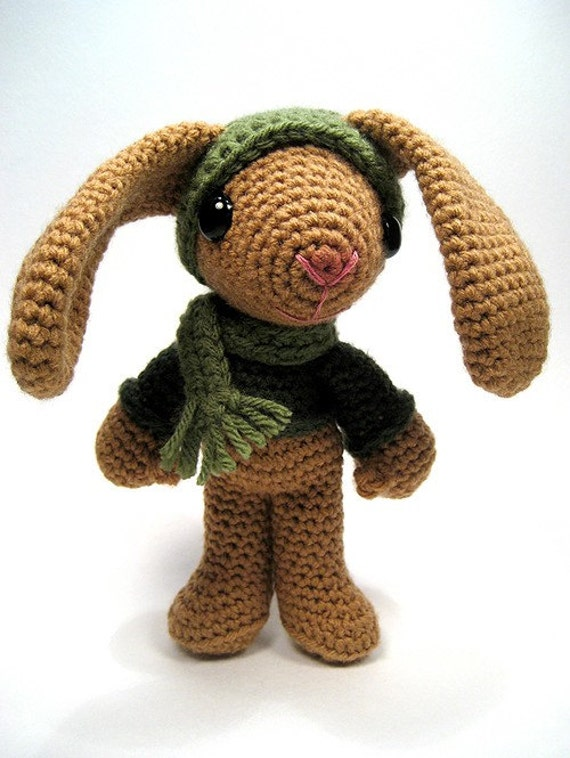 Sheldon the rabbit crochet pattern