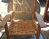 Unfinished Wooden Child's Chair-Great Prop