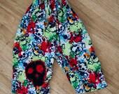 RESERVED FOR AMY - Splatter Skull Pants - Large