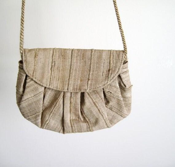 25% OFF - Vintage 80s Mini Rope Strap Purse