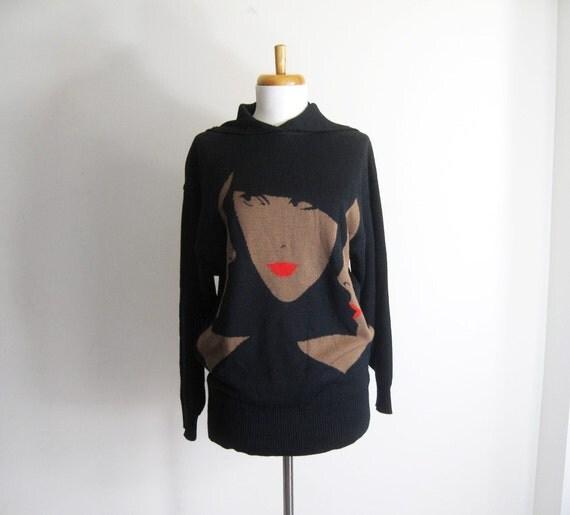 15% OFF - Vintage 80s MONDI Mod Model Sweater - 36