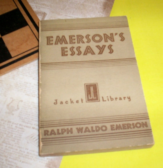 ralph waldo emerson essays and books The literary classic, essays of ralph waldo emerson.