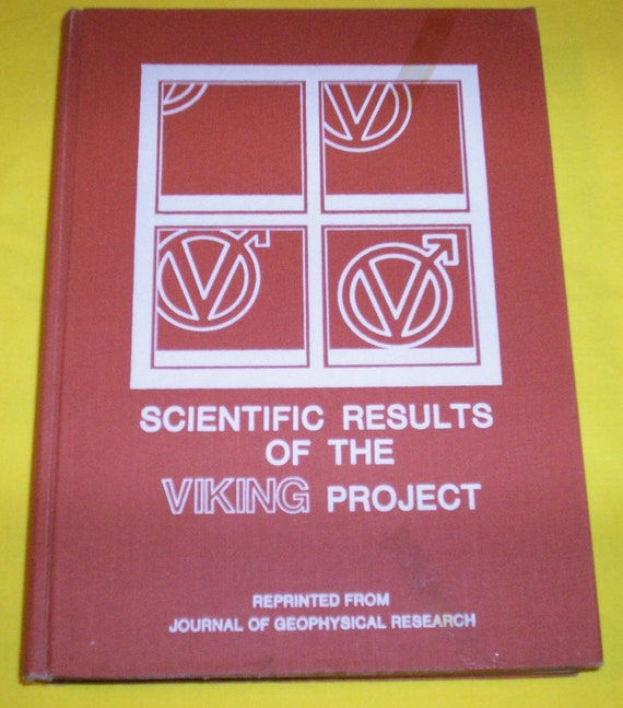 SCIENTIFIC RESULTS OF The Viking Project 1978 Vintage Book