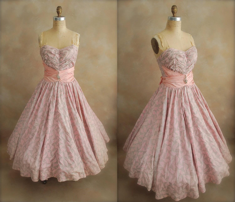50s Vintage Prom Dresses 6